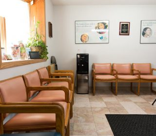 Chairs in the Lobby Area at Muscatine, IA Dental Office | Gentle Family Dentists