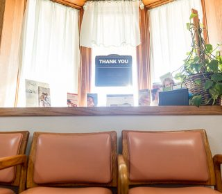 Lobby Area at Muscatine, IA Dental Office | Gentle Family Dentists