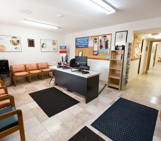 Reception Area at the Muscatine, IA Dental Office | Gentle Family Dentists
