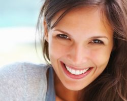 Carefree Smile of a Lady | Cosmetic Dentistry in West Liberty, IA and Muscatine, IA | Gentle Family Dentists