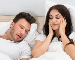 Annoyed Wife due to Husband's Snoring Problem | Snoring and Sleep Apnea Solutions in West Liberty, IA and Muscatine, IA | Gentle Family Dentists