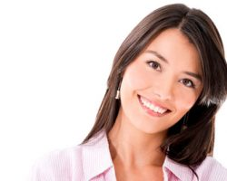 Lady Posing with a Serene Smile | West Liberty, IA and Muscatine, IA | Gentle Family Dentists